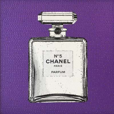 Chanel No 5 Colour Pop Viola by Elisa Cantarelli
