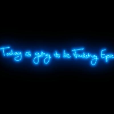 Fucking Epic - Electric Blue by Lauren Baker