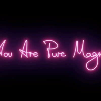 You Are Pure Magic - Fuschia by Lauren Baker