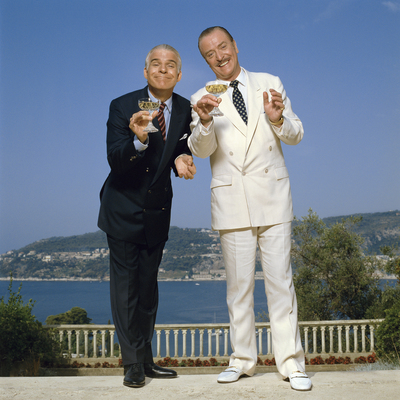 Steve Martin and Michael Caine in Dirty Rotten Scoundrels  by Terry O Neill