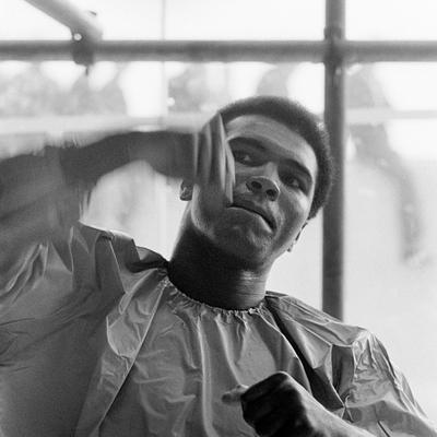 Muhammed Ali Dublin 1972 by Terry O Neill
