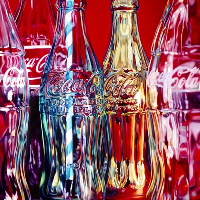 Coke and Stripey Straw by Kate Brinkworth