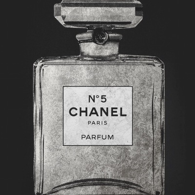 Chanel No 5 - Silver by Simon Freeborough