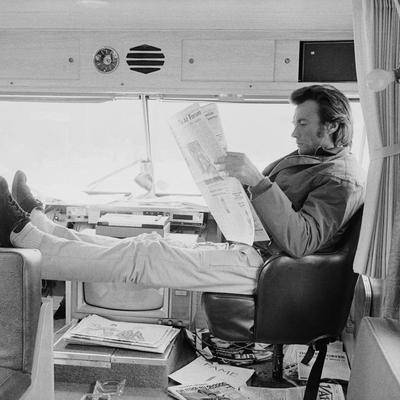 Clint Eastwood Arizona 1972 by Terry O Neill