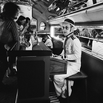 Elton John on Starship by Terry O Neill