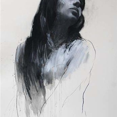 Natalie Turning into Profile by Mark Demsteader