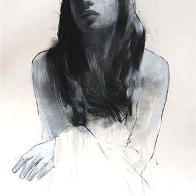 Natalie Looking Downwards by Mark Demsteader