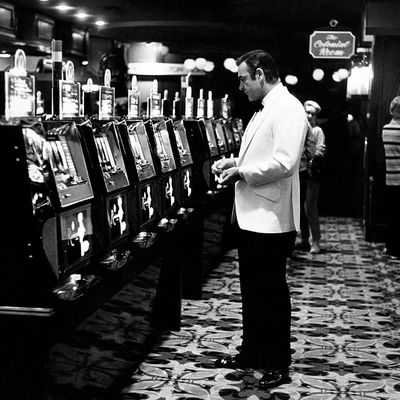 Sean Connery at the Slots Las Vegas Casino 1971 by Terry O Neill