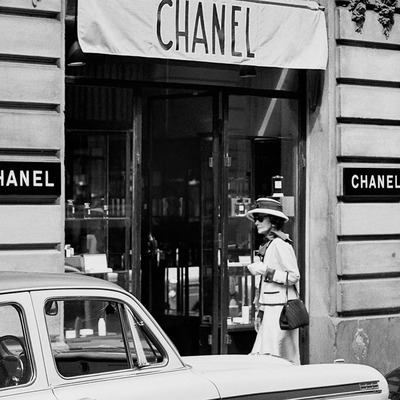 Coco Chanel 1962 by Douglas Kirkland