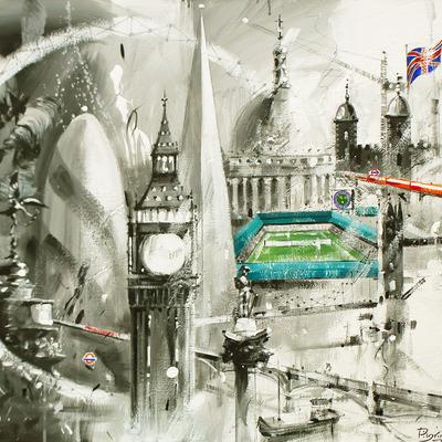 Wimbledon London Montage by David Pilgrim