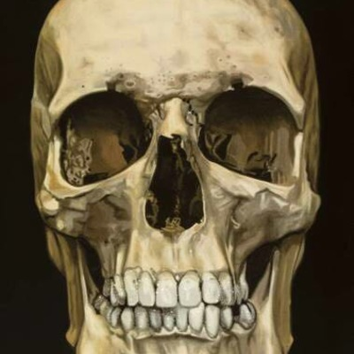 The Skull Beneath the Skin 2005 by Damien Hirst