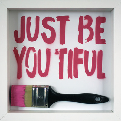 Just Be You Tiful Brush  by Rich Simmons