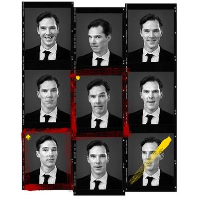 Benedict Cumberbatch by Andy Gotts