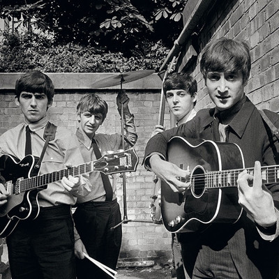 The Beatles Backyard by Terry O Neill