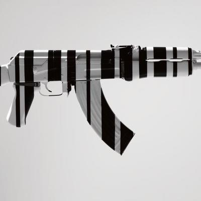 AK47 - Boxed Print by McCrow