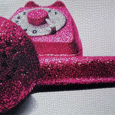 Pink Telephone by Elisa Cantarelli