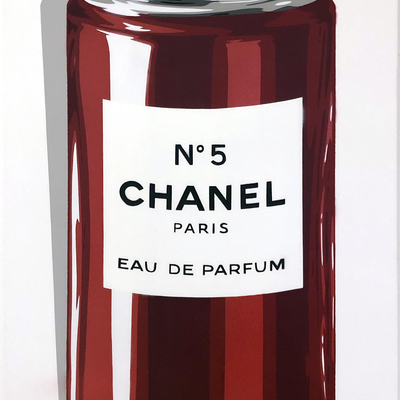 Chanel No 5 - Limited Edition Red by Rich Simmons