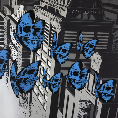 Skullerfly City Triptych - Part 3  by Rich Simmons