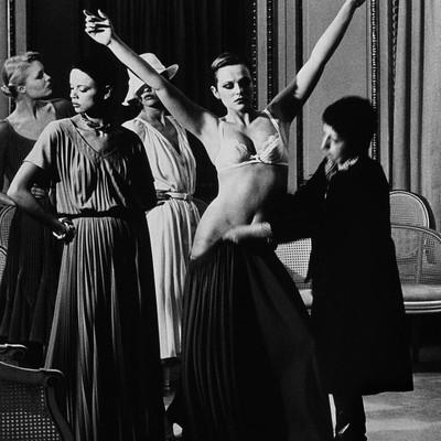 Chez Patou by Helmut Newton