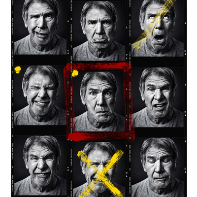 Harrison Ford by Andy Gotts