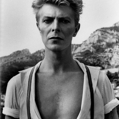 David Bowie Monte Carlo by Helmut Newton