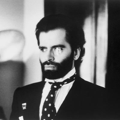 Karl Lagerfeld by Helmut Newton