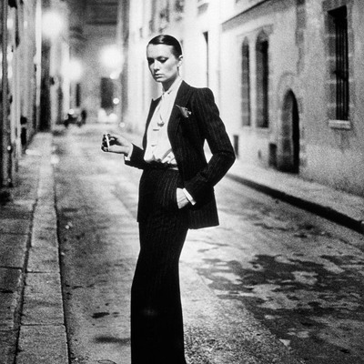 Rue Aubriot by Helmut Newton