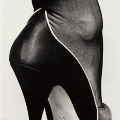 Shoe by Helmut Newton