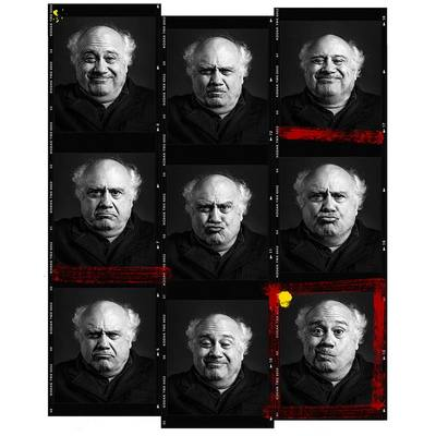 Danny De Vito by Andy Gotts