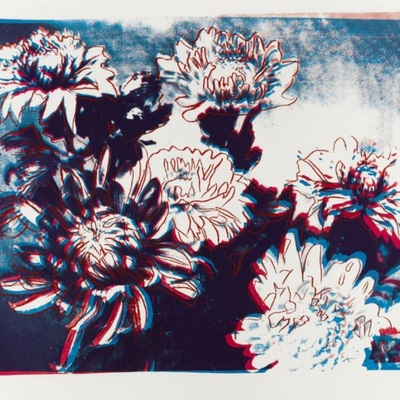Kiku - unpublished studio trial proof - 1983 by Andy Warhol