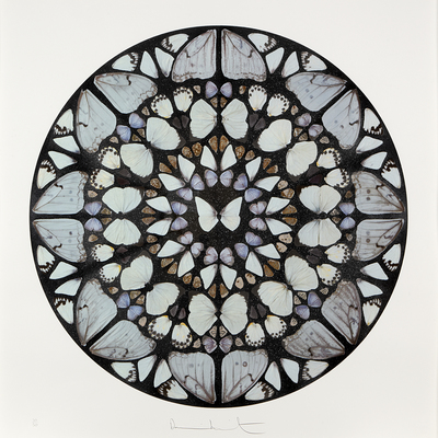 Psalm Print - Benedictus Dominus by Damien Hirst