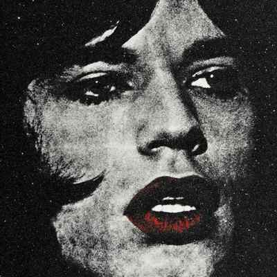 Mick Jagger Red Lips by Russell Young