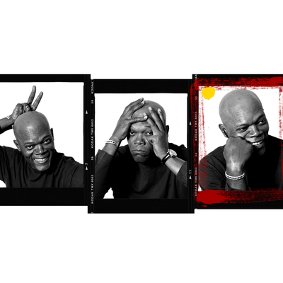 Samuel L Jackson by Andy Gotts