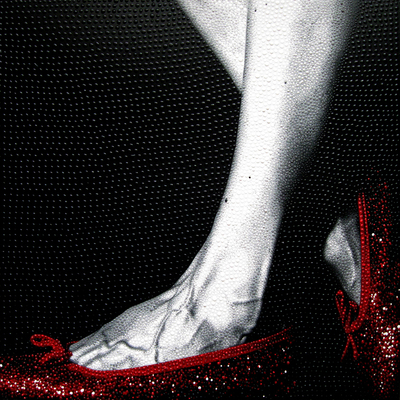 Oz Shoes 9 - Red by Elisa Cantarelli