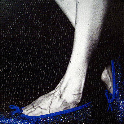 Oz Shoes 9 - Blue by Elisa Cantarelli