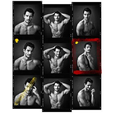 David Gandy 2015 by Andy Gotts