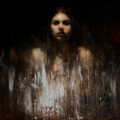 Head Study by Mark Demsteader