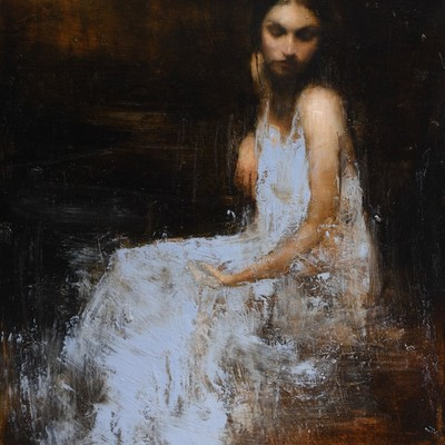 Study for Wilderness 1 by Mark Demsteader