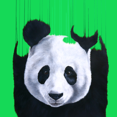 Pandemonium Green  by Louise McNaught