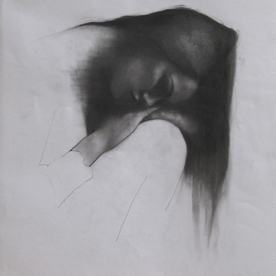 Where Nobody Knows (Charcoal)  by Patrick Palmer