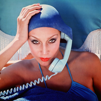 Jamaica Blue and Beautiful  by Norman Parkinson