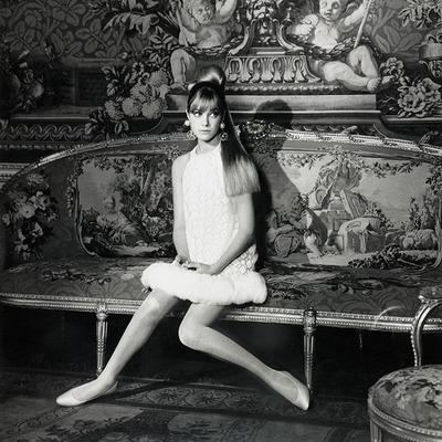 Jane Birkin by Norman Parkinson