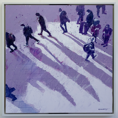 Station Shadows I by Richard Knight