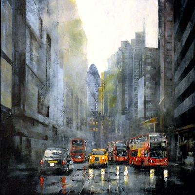 Bishopsgate  by Paul McIntyre
