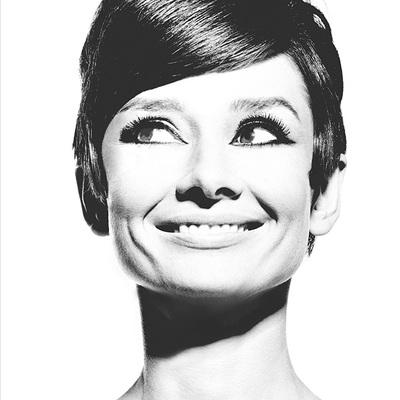 Audrey Hepburn 5 by Douglas Kirkland