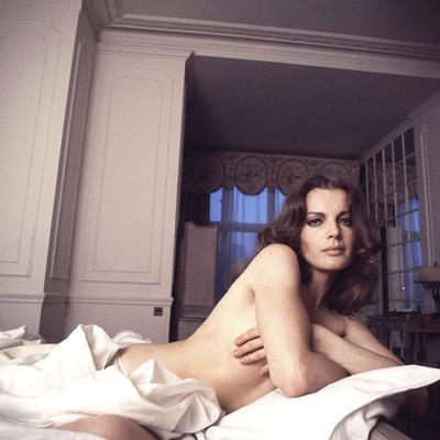 Romy Schneider  by Douglas Kirkland