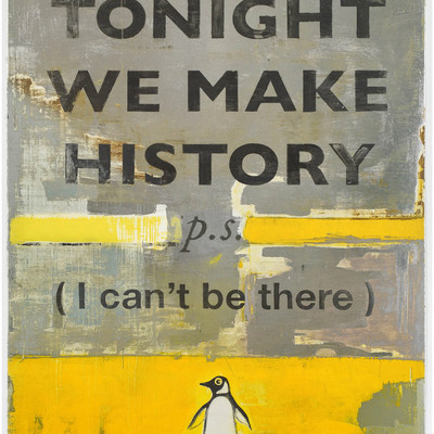 Tonight We Make History by Harland Miller