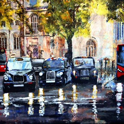 Parliament Square by Paul McIntyre