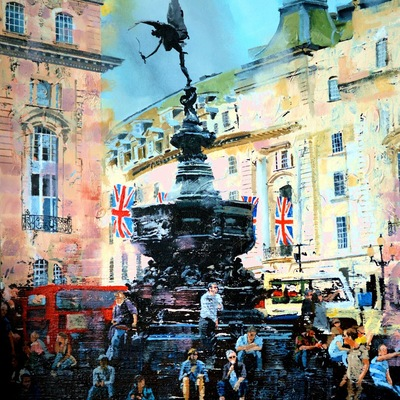 Piccadilly Afternoon  by Paul McIntyre