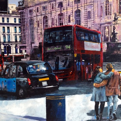 Piccadilly Sunshine by Paul McIntyre